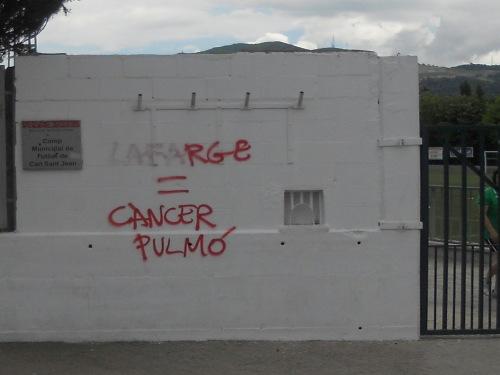 Lafarge = Cancer de pulmo