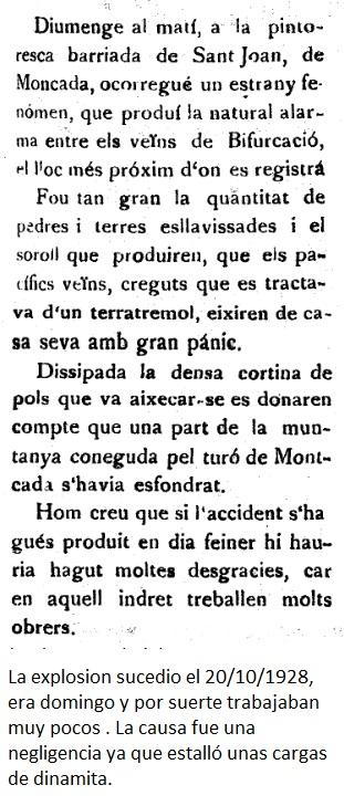 El peligro de la Fca Asland 1928.