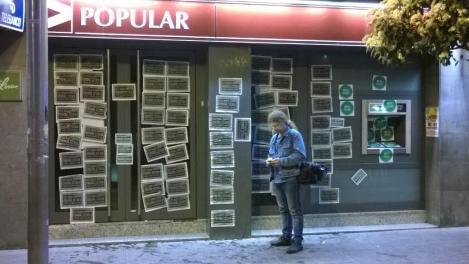 bloqueo banco popular montcada