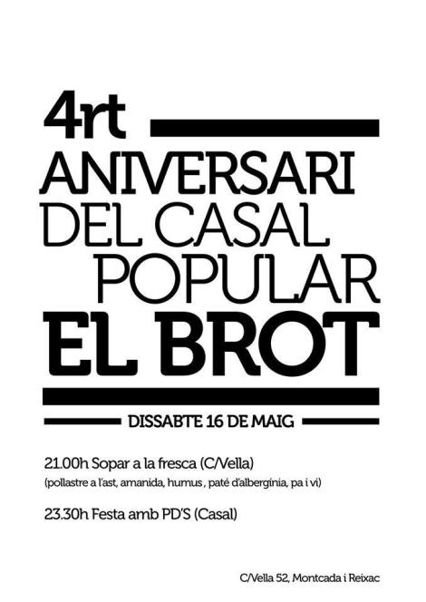 4art aniversari casal popular brot